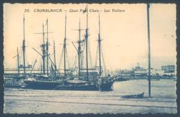 Maroc CASABLANCA Quai Paul Chaix Les Voiliers - Casablanca