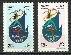 Egypt - 2000 - ( 2000 Summer Olympics, Sydney ) - MNH (**) - Summer 2000: Sydney