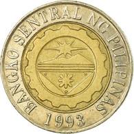 Monnaie, Philippines, 10 Piso, 2004, Manila, TB+, Bi-Metallic, KM:278 - Philippines