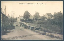 18 COURS Les BARRES Cher Route De Nevers - Francia