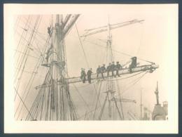Lot De 9 Photos + 3 Postcards Smet De Naeyer Sail Training Ship Bateau Ecole Boat Voilier Voile - Bateaux