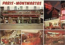 D75 - PARIS - MONTMARTRE - LE RESTAURANT MOULIN ROUGE - SELF SERVICE - SHOPPING - PLACE BLANCHE - Cafés, Hôtels, Restaurants