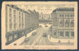 75 PARIS 2e Hotel Favart Rue Marivaux - Arrondissement: 02