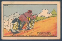 Chromo Motocyclisme Moto La Vignonne 6.5 X 9.5 Cm - Cromos