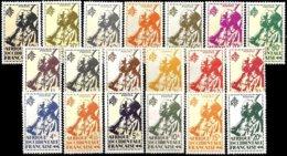 FR. WEST AFRICA, Yv. 4-22, MNH-MLH, F-VF, Cat. €18 - A.O.F. (1934-1959)