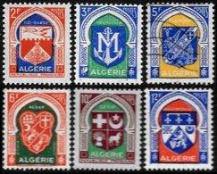 ALGERIA, Yv. 337A-F, MNH, F-VF, Cat. €8 - Algeria (1924-1962)