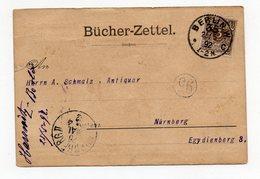 Bücherzettel Berlin 25.5.92 Nach Nürnberg - Briefe U. Dokumente