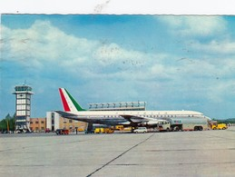 AEROPORTO-AEROPORT-AIRPORT-FLUGHAFEN-MALPENSA-MILANO-ITALIA-VERA FOTOGRAFIA VIAGGIATA IL 12-8-1973 - Aérodromes