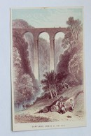 Cartland Crags & Bridge, Lanark, South Lanarkshire, Scotland - Antique Etching / Engraving Print - Prints & Engravings