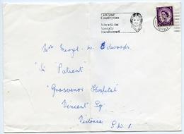 Slogan Postmark On Cover : Mentally Handicapped, 1960s : Victoria, London - 1952-.... (Elizabeth II)