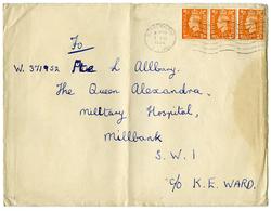 Rotherhithe Postmark,1966 - Queen Alexandra Military Hospital, Millbank - 1952-.... (Elizabeth II)