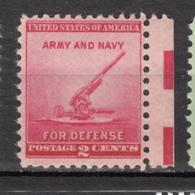 USA, MNH, Militaria, Canon, Army, Navy, Armée, Marine - Militaria