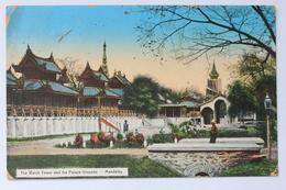 The Watch Tower And The Palace Grounds, Mandalay, Myanmar / Burma (damaged) - Myanmar (Burma)