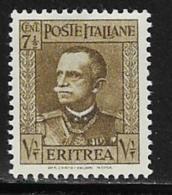 Eritrea Scott # 150 MNH Victor Emmanuel Lll, 1931 - Eritrea