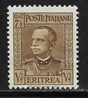 Eritrea Scott # 150 Mint Hinged Victor Emmanuel Lll, 1931 - Eritrea