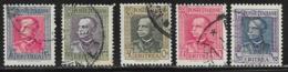 Eritrea Scott # 151-2,154-6 Used Victor Emmanuel Lll, 1931 - Eritrea