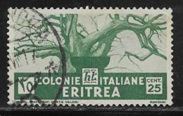 Eritrea Scott # 162 Used Baobab Tree, 1934 - Eritrea