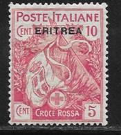Eritrea Scott # B1 Mint Hinged Italy #B1 Overprinted, 1915 - Eritrea