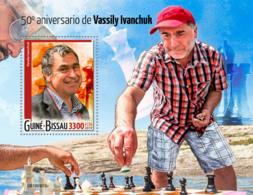 Guinea Bissau  2019  Vassily Ivanchuk ,chess  S201911 - Guinea-Bissau