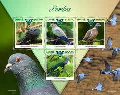 Guinea Bissau  2019  Fauna Pigeons S201911 - Guinea-Bissau