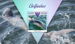 Guinea Bissau  2019  Fauna Dolphins S201911 - Guinea-Bissau