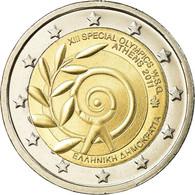Grèce, 2 Euro, Special Olympics - Athens, 2011, SUP, Bi-Metallic, KM:239 - Grecia