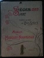 Porte-Folio A.D. (Darras) Sièges D' Art - Art Nouveau Années 1900 - 52 Planches - Meubles