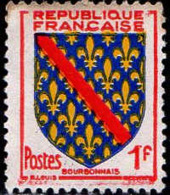 France Poste Obl Yv:1002 Mi 1028 Yv:0,15 Euro Bourbonnais Armoiries (Obli. Ordinaire) - Francia
