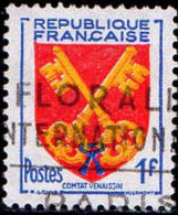 France Poste Obl Yv:1047 Mi 1075 Yv:0,2 Euro Comtat Venaissin Armoiries (Belle Obl.mécanique) - Francia