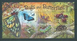 Australia 2003 Bug & Butterflies Miniature Sheet Bangkok Exhibition Overprint MNH - 2000-09 Elizabeth II