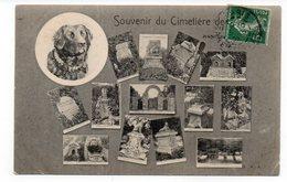 92 - ASNIÈRES - Souvenir Du Cimetière De Chiens - Multi-Vues - 1907 (K60) - Asnieres Sur Seine