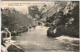 51gp 525 CPA - FONTAINE DE VAUCLUSE - LE LAC DES CASCADES - Non Classés