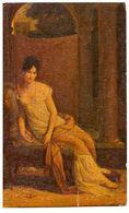 MADAME RECAMIER VON GERARD - EFFETTO PITTURA A MANO --- R0470 - Peintures & Tableaux