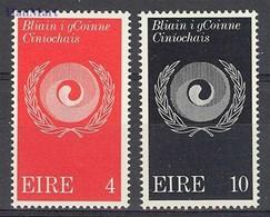 Ireland 1971 Mi 270-271 MNH ( ZE3 IRL270-271 ) - Ierland