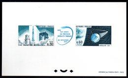 Epreuve Collective YT N° 1465A -  Cote: 550 € - Espace - Space - Epreuves De Luxe