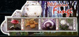 XC1226 Philippines 2019 Various Mushrooms S/S MNH - Filipinas