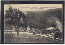 38371 . FOURVOIRIE . VUE GENERALE DE LA DISTILLERIE DE LA GRANDE CHARTREUSE - France