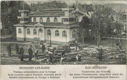 Luxembourg  Mondorf Bohrung Der Thermalquelle - Mondorf-les-Bains