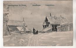 +3498, Schneekoppe, Riesengebirge, Tschechisch Krkonoše, Polnisch Karkonosze, - Pologne