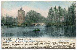 CPA - Carte Postale Adressée à  HENRI BAELS - Belgique - Bruges - Le Lac D'Amour - 1905 ( HB10951) - Brugge