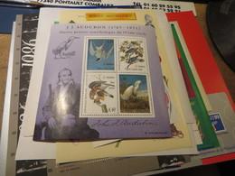 Petite Collection De Blocs  De Timbres De FRANCE  ,luxe Faciale Sans Surtaxe 48 €++(apres Conversion) - Sammlungen (ohne Album)