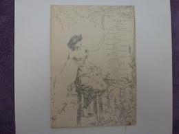 MENU, BANQUET DU 14 DECEMBRE 1895 - Menú