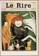 Cppub 066 Journal LE RIRE N°231 8 Avril 1899 Séverine Va Mieux Dessin Leonetto CAPPIELLO REPRO Marguerite DURAND - Advertising