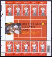 Belgie - 2003 - OBP - ** 3225/26  - Justine Henin - Kim Klijsters ** 2 Scans - Ongebruikt
