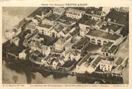49 - SAINT HILAIRE SAINT FLORENT - VUE GENERALE DES ETABLISSEMENTS - PUB VEUVE AMIOT - Autres Communes