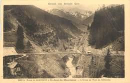 73 - ROUTE DE GLANDON A ST JEAN DE MAURIENNE - L'ARVAN AU PONT DE BELLEVILLE - France