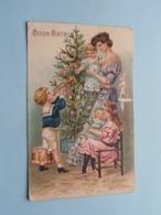 BUON NATALE ( SER 161 ) Anno 1908 ( Voir / See Photo Details ) ! - Kerstmis