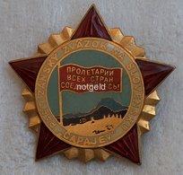 Slovakia Badge Of Chapaev Partisan Brigade. - Andere