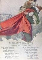 .Cartolina Ricordo....... Il Soldato Del Piave - Sin Clasificación