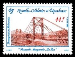 NOUV.-CALEDONIE 1985 - Yv. 503 **   Cote= 1,65 EUR - Pont Suspendu Marguerite-La Foa  ..Réf.NCE25216 - Neufs